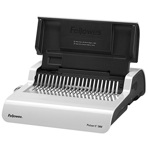 FEL5216701 - Fellowes Pulsar E 300 Electric Comb Binding Machine by Fellowes