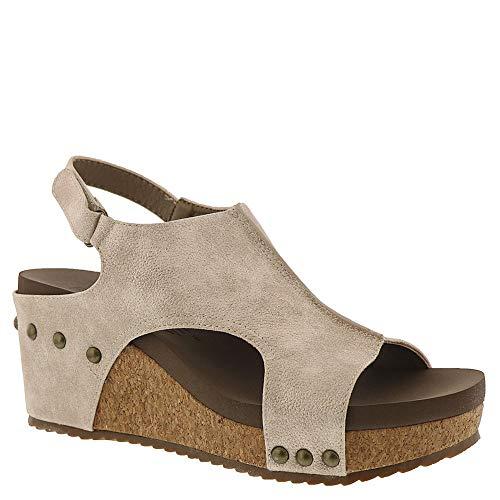 Cork Shoes Stud Platform - Corkys Ingrid Women's Sandal,Gold,9