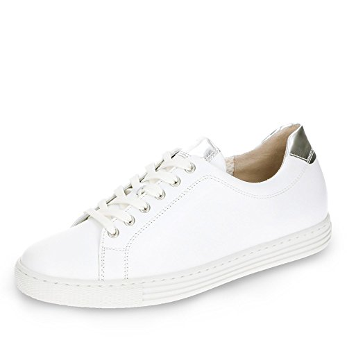 Bianco donna 486 66 Scarpe 50 Gabor stringate YXSPf