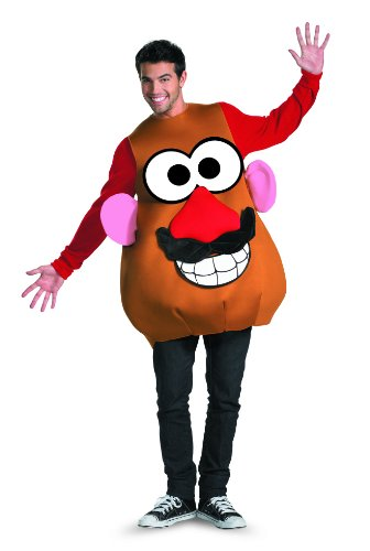 [Disguise Mr./Mrs. Potato Head Deluxe Adult,Multi,XL (42-46) Costume] (Mr Potato Head Costumes For Adults)