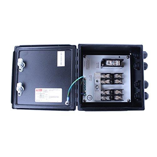 Sanmina-SCI 9999-0706 Solar Inverter NEMA-4 NEMA-12, Hinged Cover Junction Box Assembly, Solar Wiring Enclosure, Hoffman Enclosure
