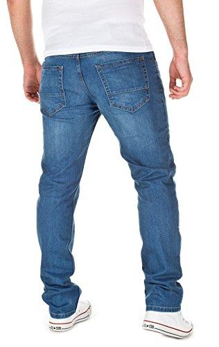 WOTEGA Indigo Travis Jeans 3928 Hombre Blue slim Men Jeans Fx0qw6aFr