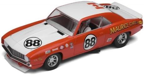 1/32 Scalextric Analog Slot Cars - Chevrolet Camaro 1969 - Classic - Driver: M Carter - No. 88 (C2891)