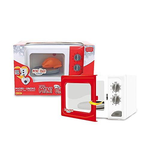 Micro-Ondas Mini Chef, Xalingo, Vermelho, Pequeno