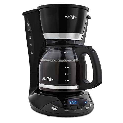 Mr. Coffee DWX23 12-Cup Programmable Coffeemaker, Black image