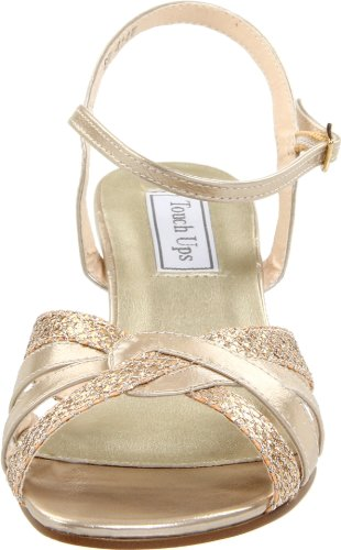 Touch Ups Women's Jane Ankle-Strap Sandal Champagne Glitter NgCo26W0