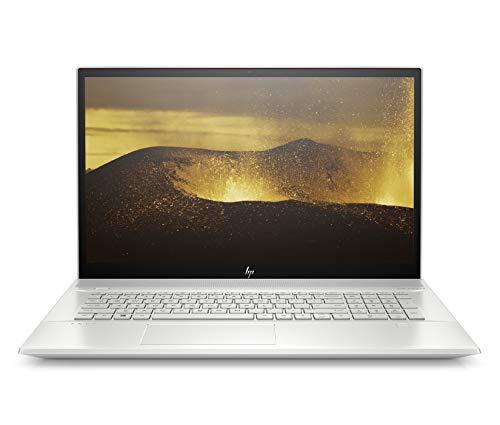 HP ENVY 17-ce1004nf PC Portable 17,3″ FHD IPS Argent (Lecteur DVD, Intel Core i7, RAM 16 Go, 1 To + SSD 256 Go, AZERTY, Windows 10)