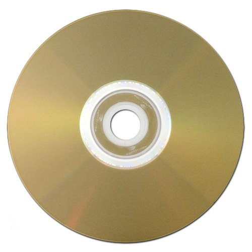 Optical Quantum 4.7 GB 16x LightScribe Gold Recordable Discs DVD-R, 100-Disc Spindle