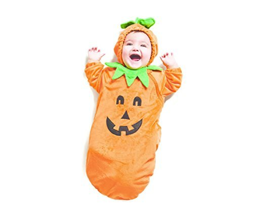 Baby Plush Pumpkin Bunting Costume - 0-6 Months ()
