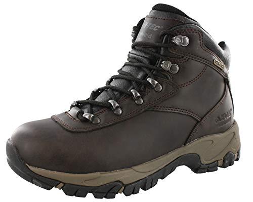 Hi-Tec Women's Altitude V I Waterproof Hiking Boot,Dark Chocolate/Black,10 M - I-tec Leather