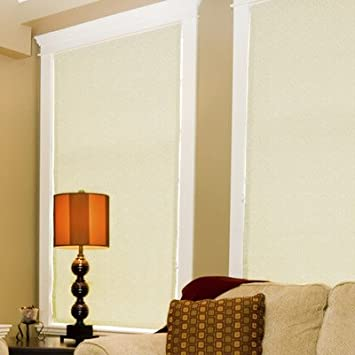 Delicieux Coolaroo Interior Cordless Blackout Shade Blinds, 52 By 72 Inch, Pearl