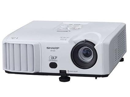 amazon com sharp xr32sl multimedia projector electronics rh amazon com Sharp Projector Manual Cp450-010 Sharp DT 500 Manual