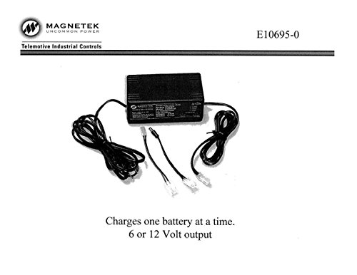 Magnetek Telemotive Battery Charger, P/N: MAG-E10695-0 by Telemotive Battery Chargers