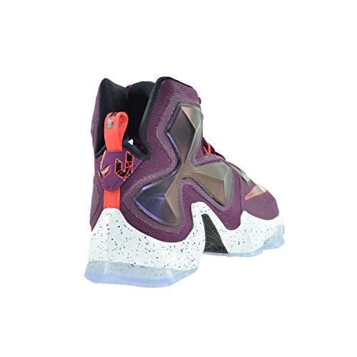 NIKE Herren Lebron XIII Basketballschuh Mulberry / Schwarz-lila Platin Vivid Purple