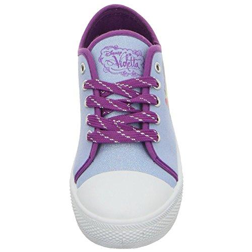 Violetta 32860 Mädchen Klettverschluss/Slipper Halbschuh sportlicher Boden, Größe 30.0