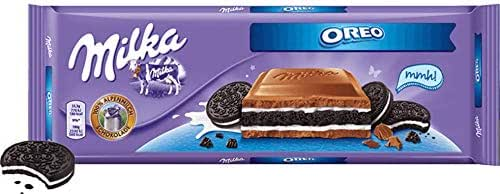 Chocolate Candies: Milka Oreo Big Crunch Bar