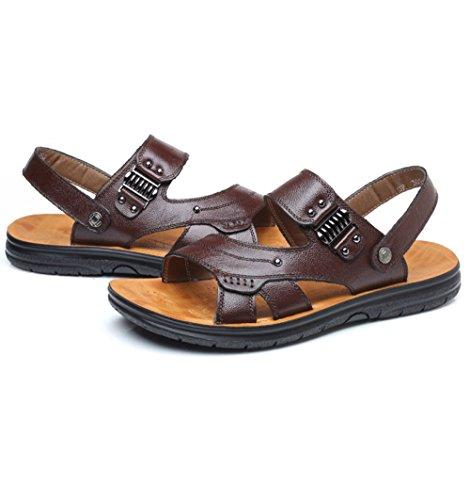 Los Aire Los Zapatos Al Hombres De Casuales Verano De Playa Deportes Brown Transpirable Senderismo Libre Sandalias OBOTW4qr