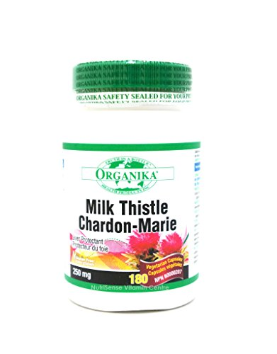 Milk Thistle 250mg 180 Softgels by Organika Review