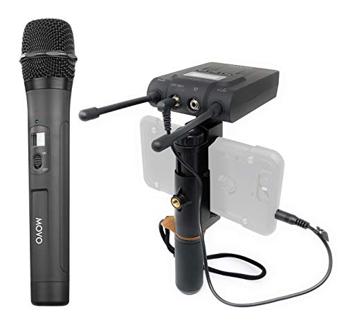 MOVO UNIVERSAL PRO 330FT Wireless Smartphone Microphone for