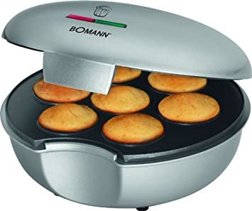 Muffin de Maker con 900 W (Panificadora, cupcakes, revestimiento antiadherente, Back Semáforo, 7 magdalenas): Amazon.es: Hogar
