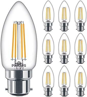 Philips LED Filament BC Candle Bulb