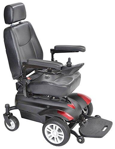 (Drive Medical Titan Front Wheel Power Wheelchair 18