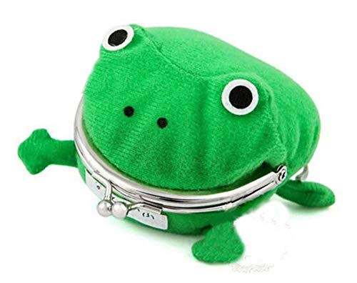 Gumstyle Uzumaki Naruto Anime Cosplay Plush Frog Coin Purse Change Pouch Wallet Small Money Bag (Frog Naruto Purse)