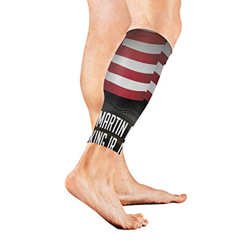 (Leg Sleeve Dr Martin Luther King Jr Calf Sleeves 1 Pair for Men/Women Running/Cycling/Maternity/Travel/Ourdoor)