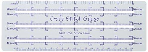 Yarn Tree Cross Stitch Gauge, 8-Inch