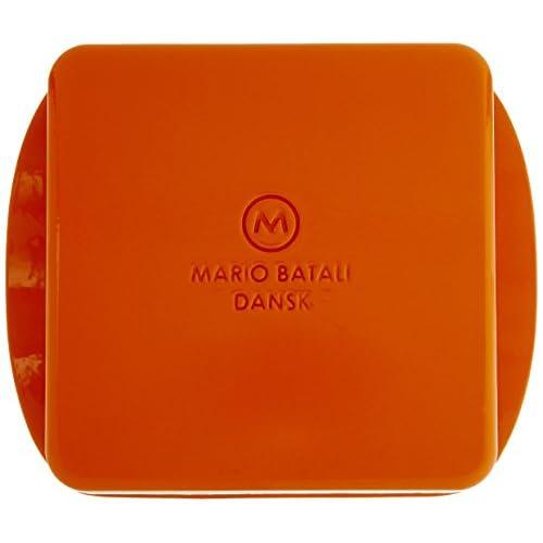 Mario Batali 826688 Enameled Cast Iron Square Baker, 9-Inch, Persimmon