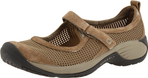 Merrell Leather Mary Janes - Merrell Women's Encore Strap Mary Jane Shoes Deep Tan