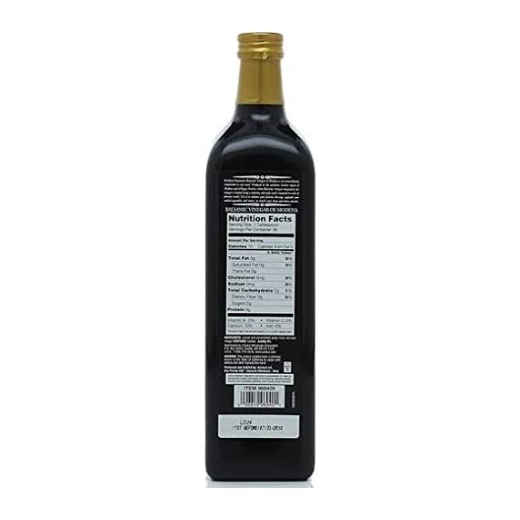 Kirkland Signature Aged Balsamic Vinegar 1-liter (33.8 Fl Oz.) 2 Kirkland Signature Aged Balsamic Vinegar - 1-Liter Size. 1 liter (33.8 fl oz.) Aged in oak casks for full-bodied flavor.