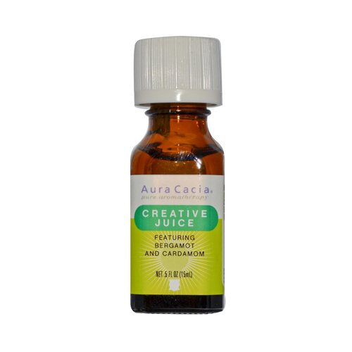 Perfume Cacia Aura Natural Fruit - Essential Solutions Creative Juice Aura Cacia 0.5 oz Liquid