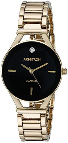 armitron-womens-75-5334bkgp-diamond-accented-dial-gold-tone-bracelet-watch