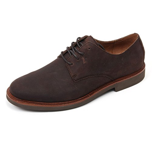 C2046 scarpa classica uomo POLO RALPH LAUREN TORRINGTN NT marrone scuro shoe man Marrone scuro