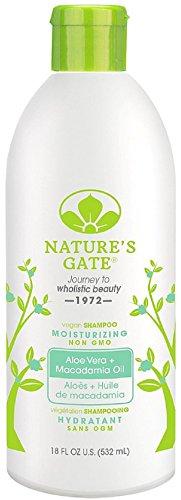 Nature's Gate Aloe Vera + Macadamia Oil Moisturizing Shampoo 18 oz (Pack of 5) ()