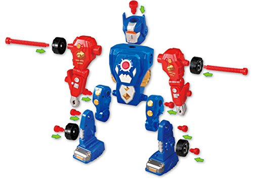 Liberty Imports Kids Take Apart Toys - Build Your Own Space Robot Transform Toy Construction Playset - http://coolthings.us