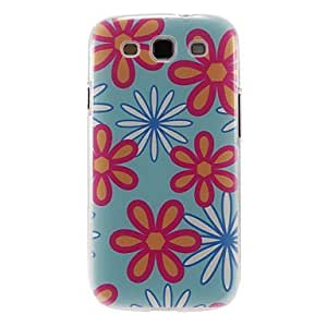 Colorful Leaves Pattern Plastic Protective Hard Back Case Cover for Samsung Galaxy S3 I9300