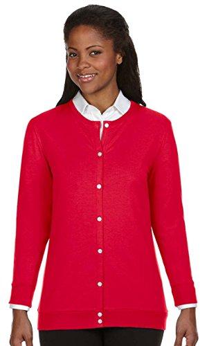 Alps Ribbon (Perfect Fit Women's Red Ribbon Cardigan XL)