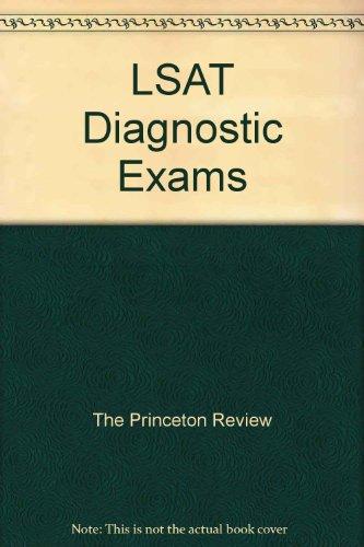The Princeton Review LSAT Diagnostic Exams 2007-2008