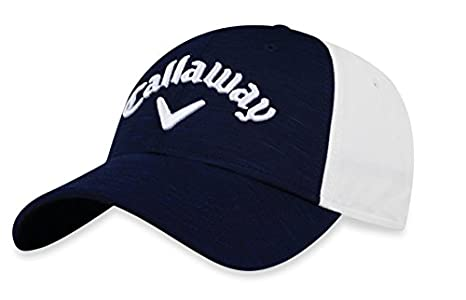 Amazon.com : Callaway Golf 2018 Heather Adjustable Hat, Charcoal/ Black/ White : Sports & Outdoors