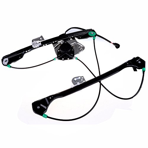 - Power Window Lift Regulator on Front Left Drivers Side with Motor Assembly Replacement for 1999-2005 Pontiac Grand Am 2 Door 1999-2004 Oldsmobile Alero 2 Door