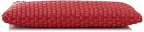 Pochettes Ecoleather Jeans Red Smooth Rouge Trussardi Bag Pochette Mimosa qaY6xPw