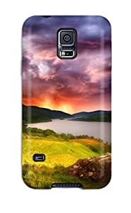 Awesome ALaePvZ14165Obsdz AnnDavidson Defender Tpu Hard Case Cover For Galaxy S5- The Land Of Two Moons