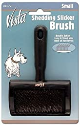 Millers Forge Vista Shedding Pet Slicker Brush, Small