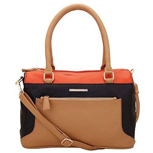 Lapis O Lupo Jamocha Damen Handtasche Beige Multifunktionales Taschen-Design