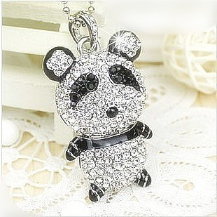 PENDRIVE USB MEMORIA FLASH DRIVE 16GB LLAVERO METALICO PANDA ...