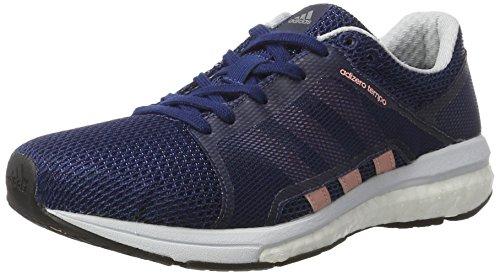 adidas Adizero Tempo, Chaussures de Running Compétition Femme Bleu (Mysblu/stibre/ntnavy)