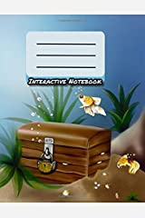 Interactive Notebook: INB Template Composition Book: Table of Contents, Numbered Pages, Sketch Paper (left output), Wide Ruled (right input) and Glossary 8.5 x 11 Softcover Writing Pad. Paperback