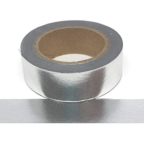 Silver Foil Washi Tape susiebsupplies